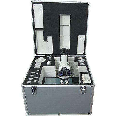 Промисловий тринокулярний мікроскоп NJC-160 Прев'ю 1