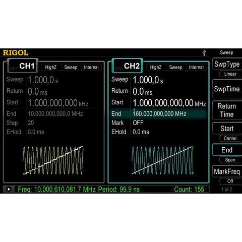 Универсальный генератор сигналов RIGOL DG4062 - Просмотр 10