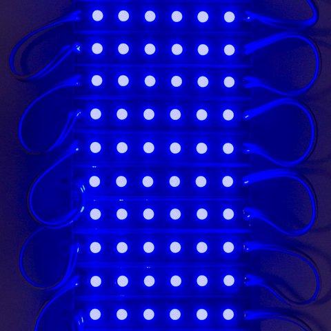 Світлодіодний модуль-стрічка SMD 5050, 20 шт. по 3 світлодіоди (синій, самоклеючий, 1200 лм, 12 В, IP65) Прев'ю 1