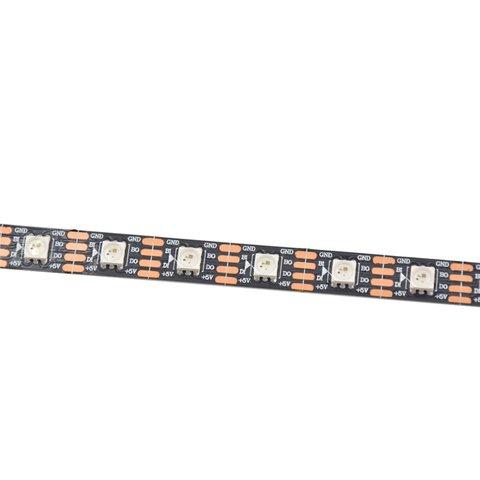 Світлодіодна стрічка RGB SMD5050, WS2813 (чорна, з управлінням, IP20, 5 В, 60 діодів/м, 5 м) Прев'ю 1