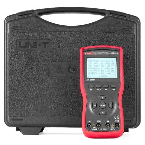 Цифрові 2-фазні струмовимірювальні кліщі UNI-T UT265B Прев'ю 6