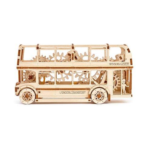 Механический 3D-пазл Wooden.City Лондонский автобус - /*Photo|product*/