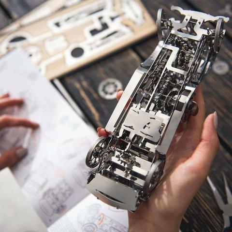 Металический механический 3D-пазл Time 4 Machine Glorious Cabrio - /*Photo|product*/