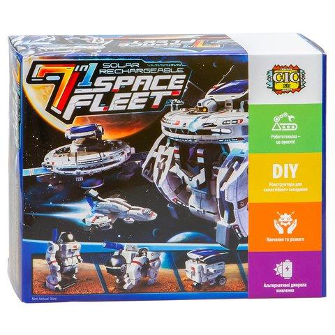 Космический флот 7 в 1, STEM-конструктор CIC 21-641 Превью 10