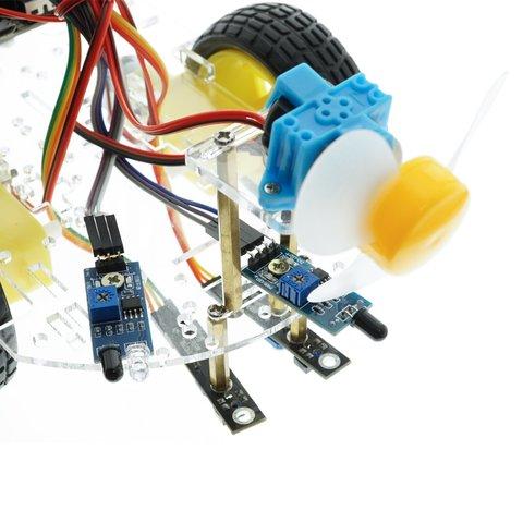 Конструктор на базі micro:bit Розумний робот-пожежник + посібник користувача Прев'ю 3