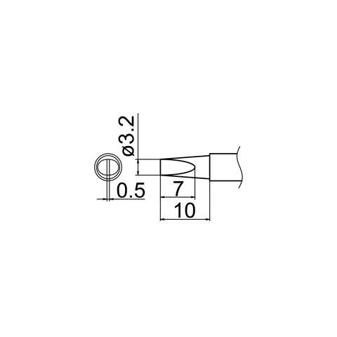Soldering Tip HAKKO T12-DL32 Preview 4